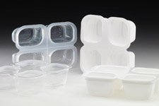 4 Compartment Snap PP Tray Range